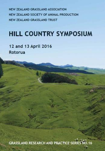 View Vol. 16 (2016): Hill Country Symposium